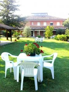 villa s. ignazio giardino frontale
